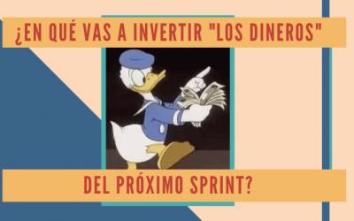 """¿En qué vas a invertir """"los dineros"""" del próximo Sprint?"""