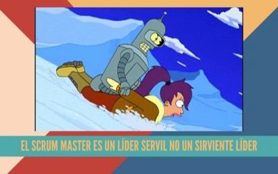 El Scrum Master es un líder servil no un sirviente líder